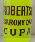 Robertson Dairy Bottle