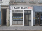Cupar Nairn Travel old Sign Uncovered in 2014